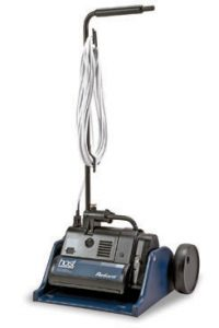 The Host Reliant dry compound carpet cleaning machine.