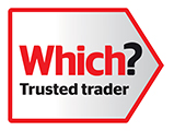 Which? Trusted Trader logo.